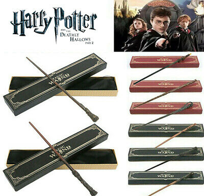 £12.49 • Buy Harry Potter Magic Wand Malfoy Hermione Dumbledore Wands Stick Kids Gifts Boxed