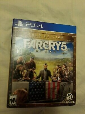 AU75.27 • Buy Far Cry 5 Gold Edition Ps4 Steelbook And Game, No Codes