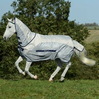 £70 • Buy BUCAS BUZZ OFF RAIN FLY RUG FULL NECK, 6ft 6, Good Condition, Perfect For UK!