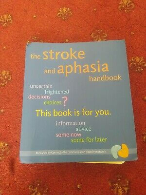 £7.99 • Buy The Stroke And Aphasia Handbook By Susie Parr Free Shipping