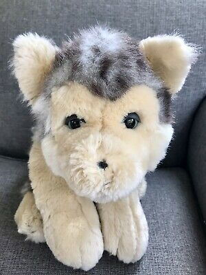 """£6.99 • Buy Keel Toys Wolf Soft Toy Plush Large 20"""" Simply Soft Collection"""