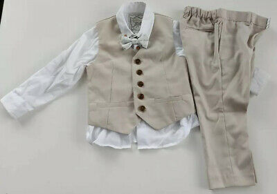 £27.95 • Buy Monsoon Baby Boys 4pcs Suit Outfit Occasion Wear  Size 18-24m VGC