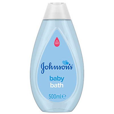 £3.02 • Buy Johnson's Baby Bath 500 Ml – Gentle And Mild For Delicate Skin And Everyday Use