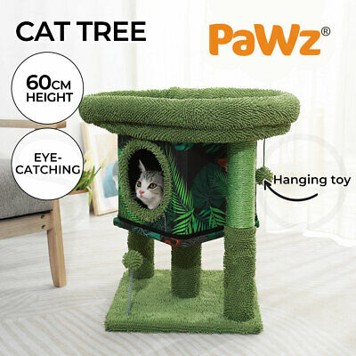 AU75.99 • Buy PaWz Cat Tree Scratching Post Scratcher Furniture Condo Tower House Trees