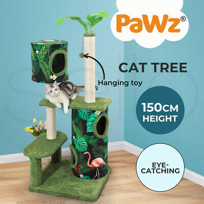 AU108.99 • Buy PaWz Cat Tree Scratching Post Scratcher Furniture Condo Tower House Trees