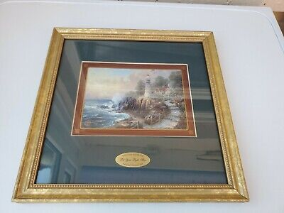 £28.81 • Buy Thomas Kinkade Collectors Society 1998 Framed Picture  Let Your Light Shine