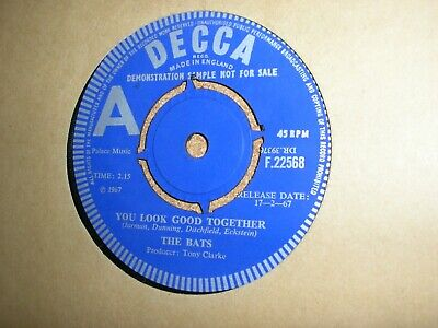£30 • Buy Rare 60s Mod Dancer 2 Sider The Bats You Look Good Together/you Will Now DEMO M-