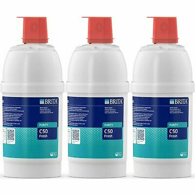 £126.58 • Buy 3 X Brita Purity C 50 Fresh Water Filter Cartridge With Active Carbon Filtration