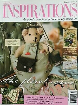 £9.99 • Buy Classic Inspirations Issue No. 57. 2000 Needlework Magazine Embroidery Used
