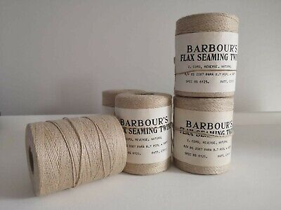 £17.50 • Buy Large Spool Vintage Irish Linen Flax Seaming Thread Cord Barbours 270g  No Label