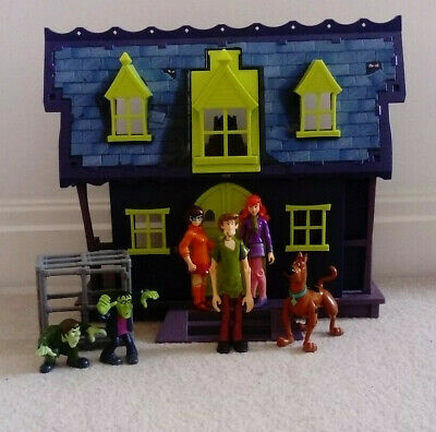 £19.99 • Buy Scooby Doo Haunted House Spooky Mansion Plus Figures