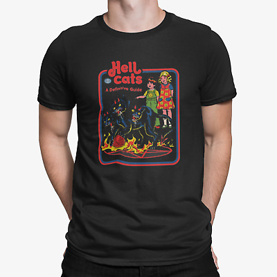 £6.96 • Buy Hell Cats A Guide Unisex T Shirt Film Movie Funny Novelty Joke Humour Graphic