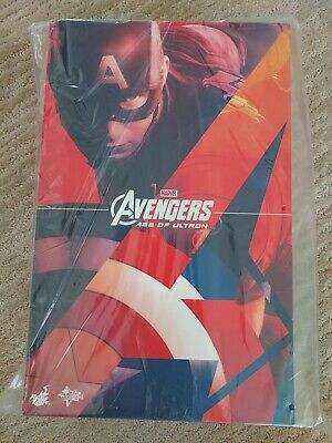$ CDN597.89 • Buy 1/6 Hot Toys MMS281 Avengers 2 Age Of Ultron Captain America AOU~ New Sealed Box