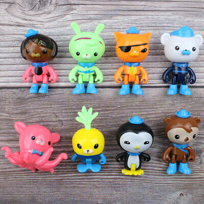 £8.99 • Buy 8PCS Octonauts Octo Crew Action Figure Doll Toy Collection Cake Topper Kids Gift