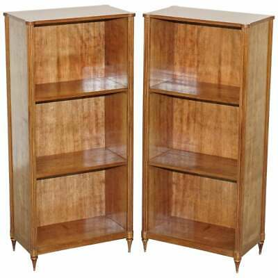 $5200.88 • Buy Sublime Pair Of Early 19th Century French Mahogany Dwarf Open Bookcases Bronze