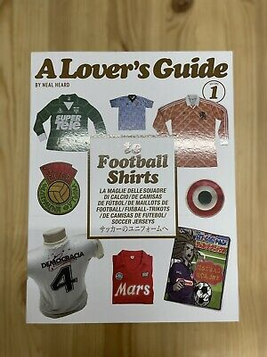 £35 • Buy A Lovers Guide To Football Shirts Book