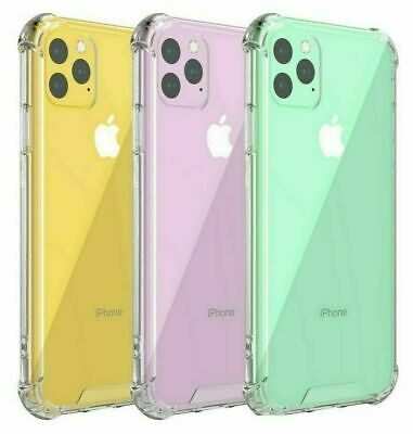 £2.99 • Buy CLEAR Shockproof Case For IPhone 12 PRO MAX Mini 11 Pro Max XR XS 8 7 6 Silicone