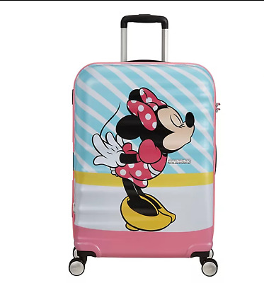 £84.98 • Buy BNWT American Tourister Disney Minnie Mouse Cabin Rolling Luggage 55 X 40 X 20cm