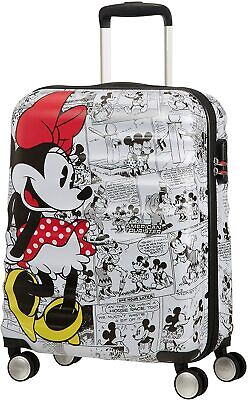 £83.98 • Buy BNWT American Tourister Disney Minnie Mouse Cabin Rolling Luggage 55 X 40 X 20cm