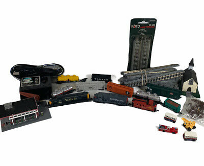 $ CDN87.12 • Buy Vintage HO And N Scale Plastic Buildings And Accessories Lot Trains