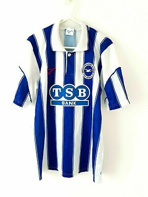 £99.99 • Buy Brighton & Hove Albion Home Shirt 1991. Original Small Adults 34/36. Blue Top S.