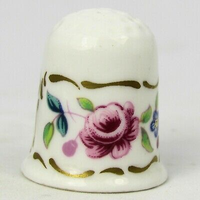 £6.32 • Buy Thimble Collectors Club, Albany Flowers By Coalport, England