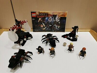 £29.99 • Buy LEGO 79001 The Hobbit Escape From Mirkwood Spiders, 100% Complete, Instructions