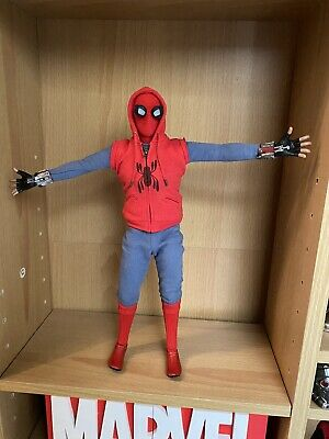 $ CDN300.94 • Buy Hot Toys Spider-Man: Far From Home - Spider-Man (Homemade  Suit) MMS552 1/6th Sc