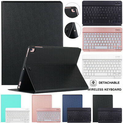 AU18.69 • Buy For IPad 6/5th Generation 9.7  7/8th 10.2  Bluetooth Keyboard Leather Case Cover