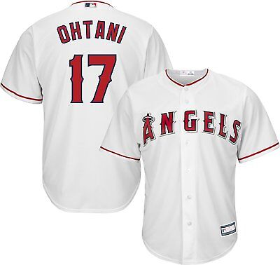 $49.99 • Buy Shohei Ohtani Los Angeles Angels #17 White Youth Cool Base Home Replica Jersey