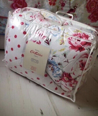 £150 • Buy Cath Kidston Floral Feather Eiderdown Quilt Bed Spread Grenwich Rose Polka Dot