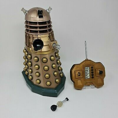 £59.99 • Buy Dr Who - Gold Dalek - 12  Interactive - Remote READ FULL DISCRIPTION -Doctor BBC