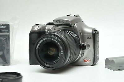 £72.74 • Buy Canon EOS Rebel/300D Digital SLR Camera With 18-55mm IS Lens