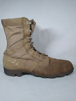 $39.99 • Buy Army Desert Tan Leather Boots, Men's Size 13 R