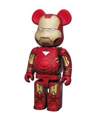 $2000 • Buy BE@RBRICK IRON MAN MARK6 Limited To 400 Pieces In Japan WAFES 2010