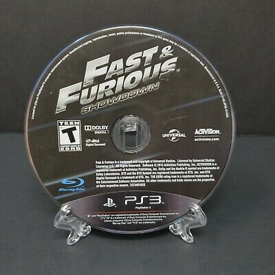£9.37 • Buy Fast And Furious Showdown For Sony Playstation 3 PS3 Disc Only Tested