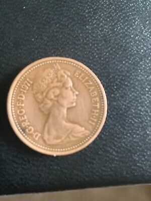 £650 • Buy VERY Rare 1971 1p Coin New Penny Good Condition For Age