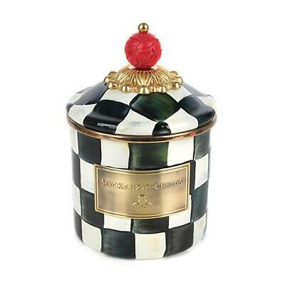 $85 • Buy MacKenzie-Childs Courtly Check Enamel Canister - Demi
