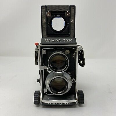 £216.09 • Buy Mamiya C220 Twin Lens Reflex Camera Outfit With 105MM F3.5 Lens Untested