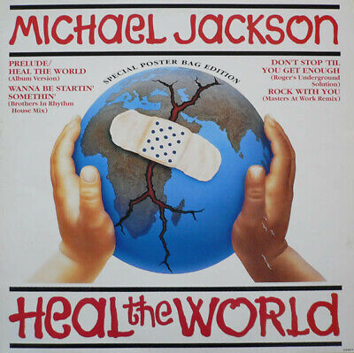 £26.88 • Buy Michael Jackson - Heal The World (Special Poster Bag Edition)