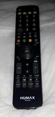 £10 • Buy Humax Remote Control For Freeview HD Fox T2 - RM-F04