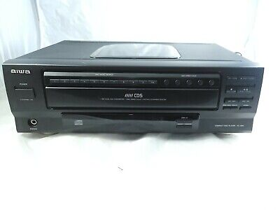 £36.35 • Buy Aiwa XC-35M 5-Disc CD Player Rotary Changer System Tested And Working