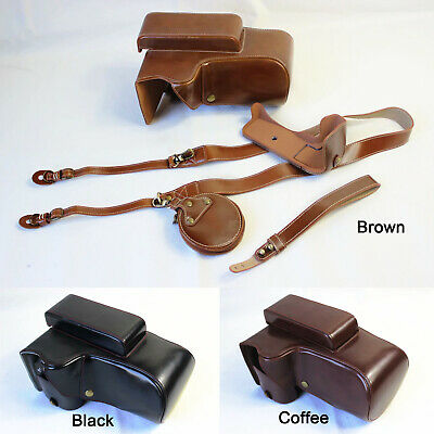 £23.20 • Buy High Quality Leather Camera Bag Case Grip Strap For NIKON P1000 P900S P900