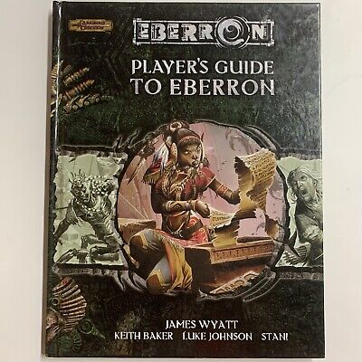 AU44.95 • Buy Player's Guide To Eberron (Dungeons & Dragons 3.5) 2006 Hard Cover RARE