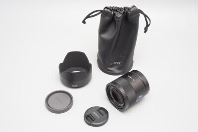 AU677 • Buy Sony Carl Zeiss Sonnar FE 55mm F/1.8 F1.8 ZA T* AF Lens, For Sony E Mount