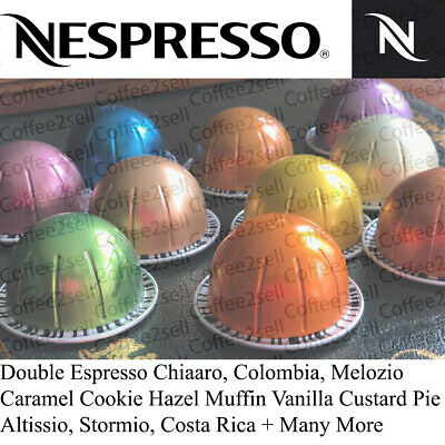 £10.75 • Buy Nespresso Vertuo Coffee Capsules Pods  All Flavours - 20% Multi Buy Discounts