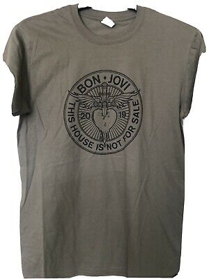 £15 • Buy Bon Jovi This Houseis Not For Sale  2019 T-shirt