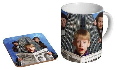 £9.95 • Buy Home Alone Lost In New York - Coffee / Tea Mug And Coaster Gift Set