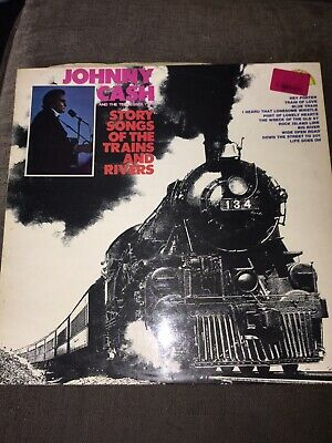 £5.60 • Buy Johnny Cash And The Tennesse Two Story Songs Of The Trains And Rivers 1969 Sun