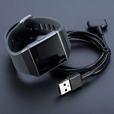$ CDN15.09 • Buy For Fitbit Ionic Watch USB Charging Cable Cord Replacement Charger Holder Ov